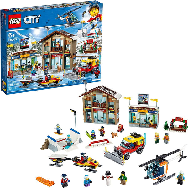 LEGO 60203: City: Ski Resort (806 PIeces)-Kidding Around NYC