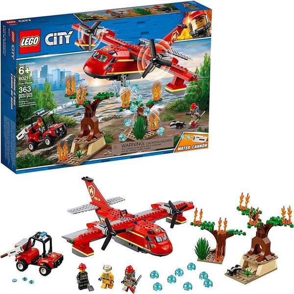 LEGO 60217: City: Fire Plane (363 Pieces)-Kidding Around NYC