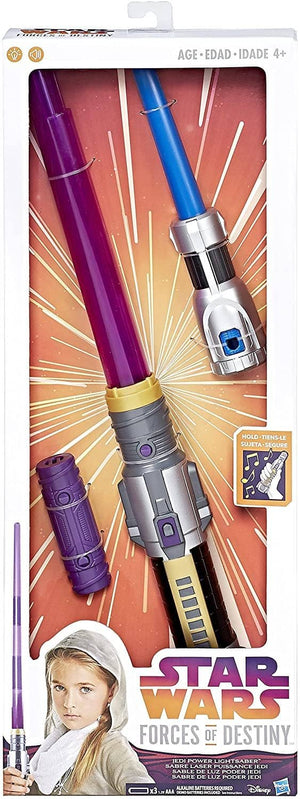 Star Wars Forces Of Destiny Jedi Power Lightsaber-Kidding Around NYC