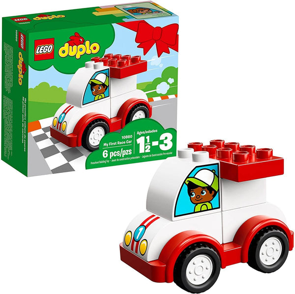LEGO 10860: DUPLO: My First Race Car (6 Piece)-Kidding Around NYC