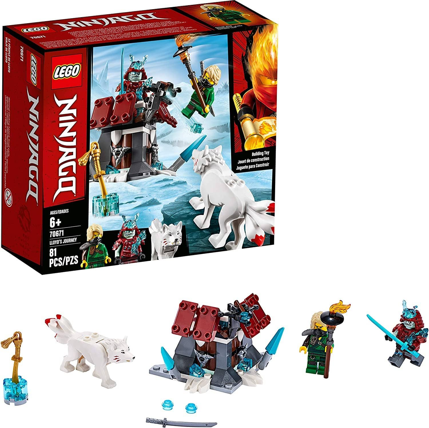 LEGO 70671: NINJAGO: Lloyds Journey (81 Pieces)-Kidding Around NYC