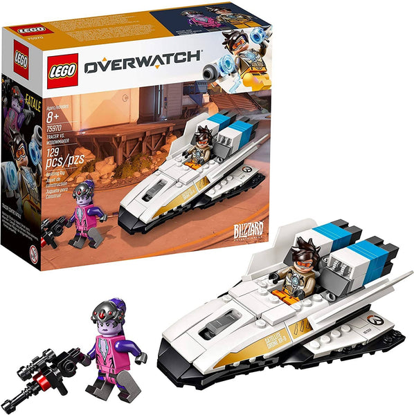 LEGO 75970: Overwatch: Tracer vs. Widowmaker (129 Pieces)-Kidding Around NYC