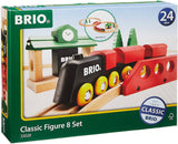 Brio World - 33028 Classic Figure 8 Set | 22 Piece Toy Train Set With Accessories And Wooden Tracks For Kids Age 2 And Up-Kidding Around NYC