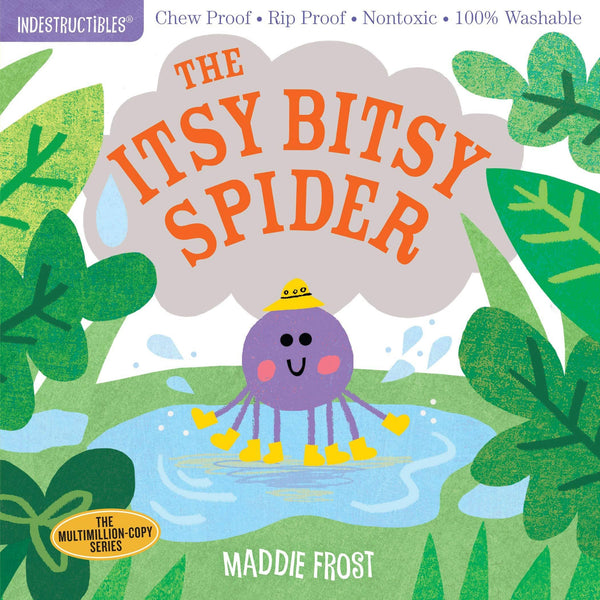 The Itsy Bitsy Spider Indestructibles-Kidding Around NYC