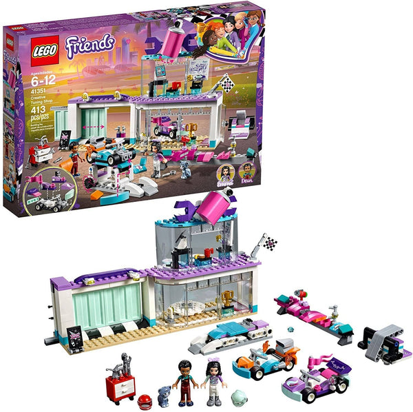 LEGO 41351: Friends: Creative Tuning Shop (413 Pieces)-Kidding Around NYC