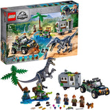 LEGO 75935: Jurassic World: Baryonyx Face Off: The Treasure Hunt (434 Pieces)-Kidding Around NYC