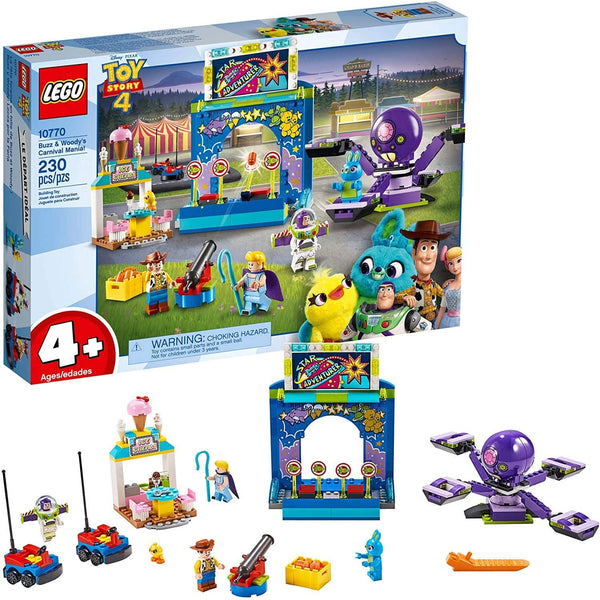 LEGO 10770: Disney: Toy Story 4: Buzz & Woody's Carnival Mania! (230 Pieces)-Kidding Around NYC