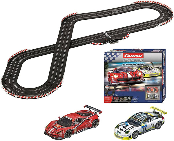 Carrera Passion Of Speed Digital Slot Car Racing Set-Kidding Around NYC