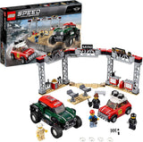 LEGO 75894: Speed Champions: 1967 Mini Cooper S Rally and 2018 Mini John Cooper Works Buggy (481 Pieces)-Kidding Around NYC