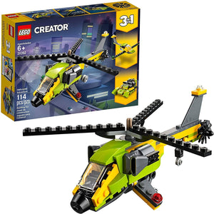 LEGO 31092: Creator: 3-in-1 Helicopter Adventure (114 Pieces)-Kidding Around NYC