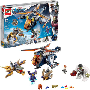 LEGO 76144: Marvel: Avengers: Hulk Helicopter Rescue (482 Pieces)-Kidding Around NYC