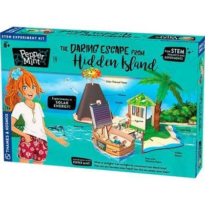 Pepper-Mint-In-The-Daring Escape From Hidden Island