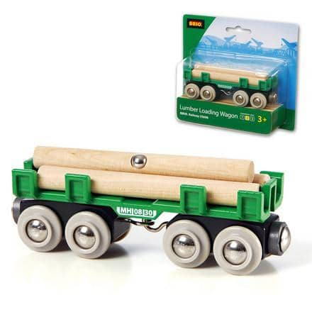 Brio World Lumber Loading Wagon-Kidding Around NYC