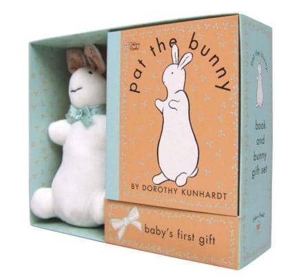 Pat The Bunny: Baby's First Gift Book And Bunny Set-Kidding Around NYC