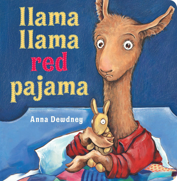 Llama Llama Red Pajama Large Board Book-Kidding Around NYC