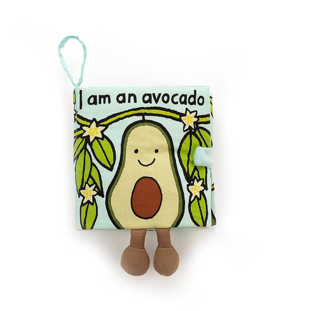 Avocado Fabric Book-Kidding Around NYC