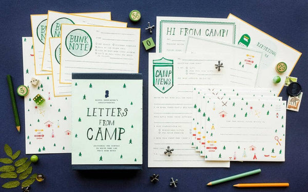 Letters From Camp Writing Kit-Kidding Around NYC
