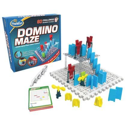 Domino Maze-Kidding Around NYC