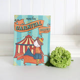 Carnival Circus Mini Coloring Book-Kidding Around NYC