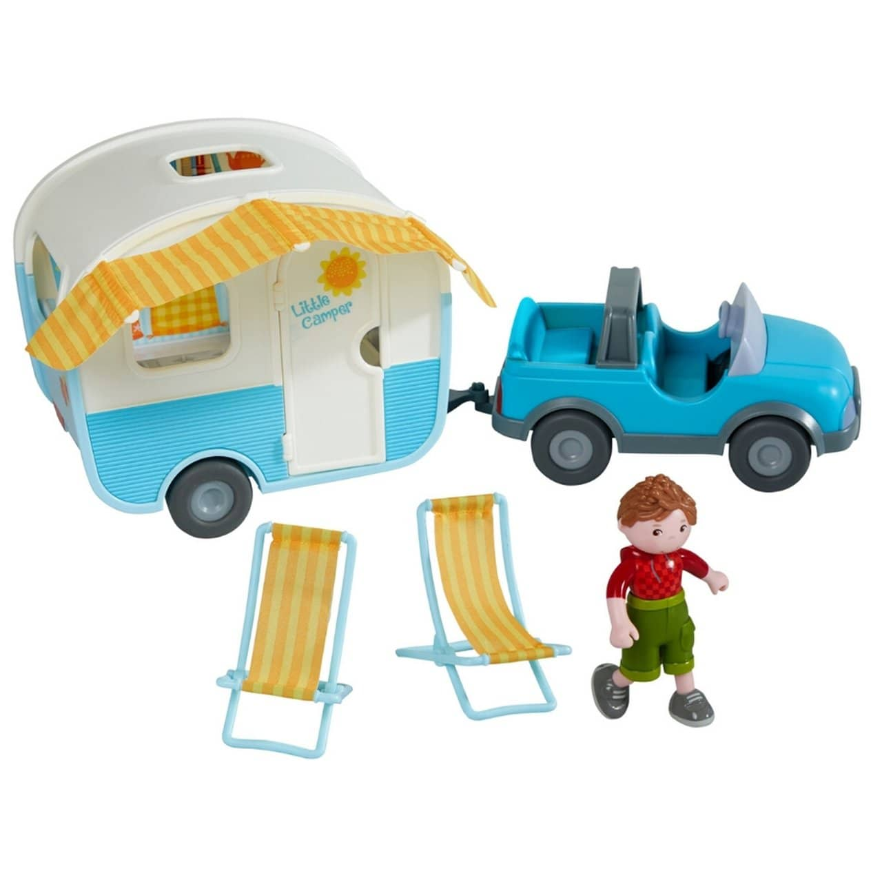 LITTLE FRIENDS CAMPER PLAY SET