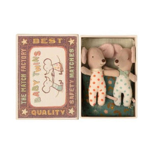Baby Twin Mice In A Box (16-1711-01)