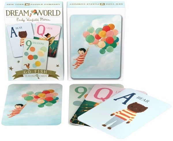 Dream World Go Fish Playing Cards-Kidding Around NYC