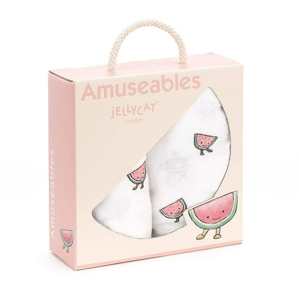 Watermelon Pair Of Muslins Amuseable-Kidding Around NYC