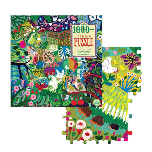 Bountiful Garden (1000 Piece Jigsaw Puzzle)-Kidding Around NYC