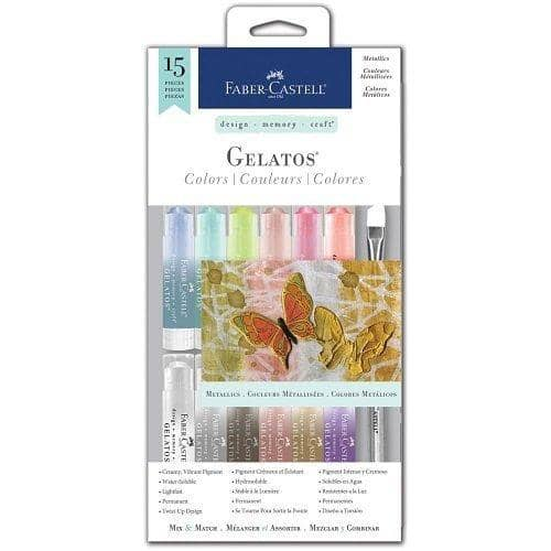 Gelatos Color 15Pc Metallics-Kidding Around NYC