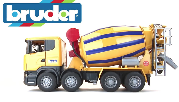 Bruder 03554 SCANIA R-Series Cement Mixer Truck