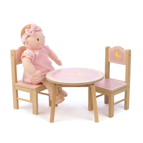 Sweetiepie Dolly Table And Chairs-Kidding Around NYC