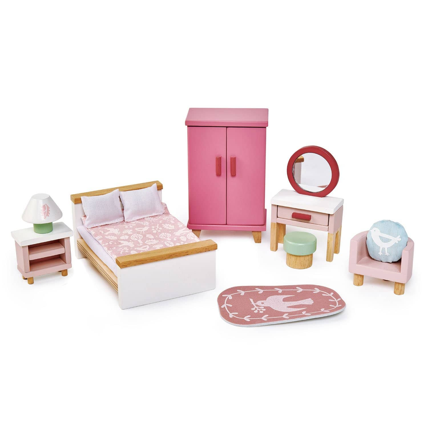 Dovetail Dollhouse Bedroom Furniture-Kidding Around NYC