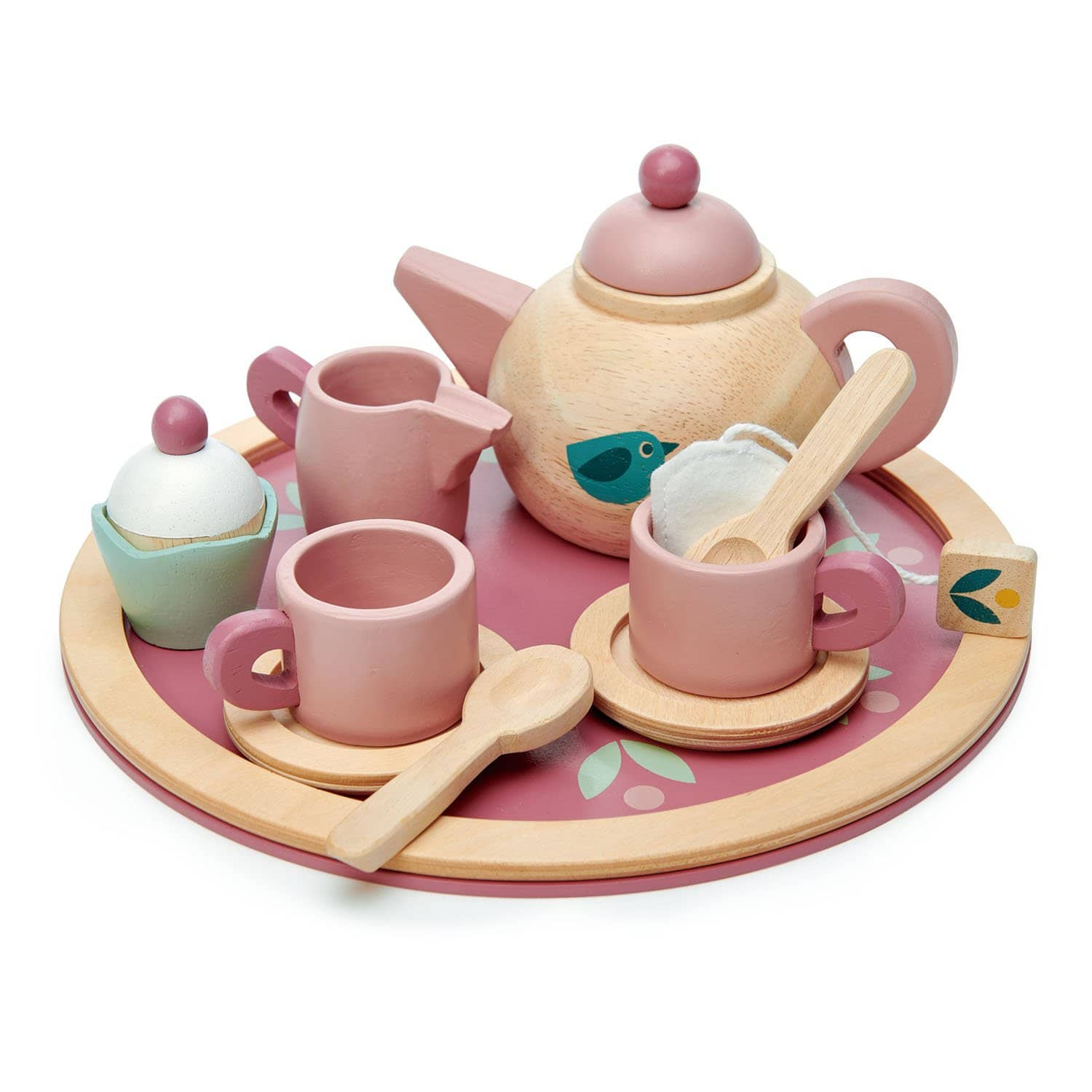 Mini Chef Birdie Tea Set-Kidding Around NYC