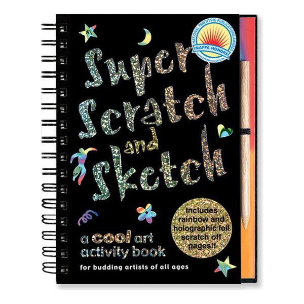 Scratch And Sketch Activity Book (Multiple Styles)