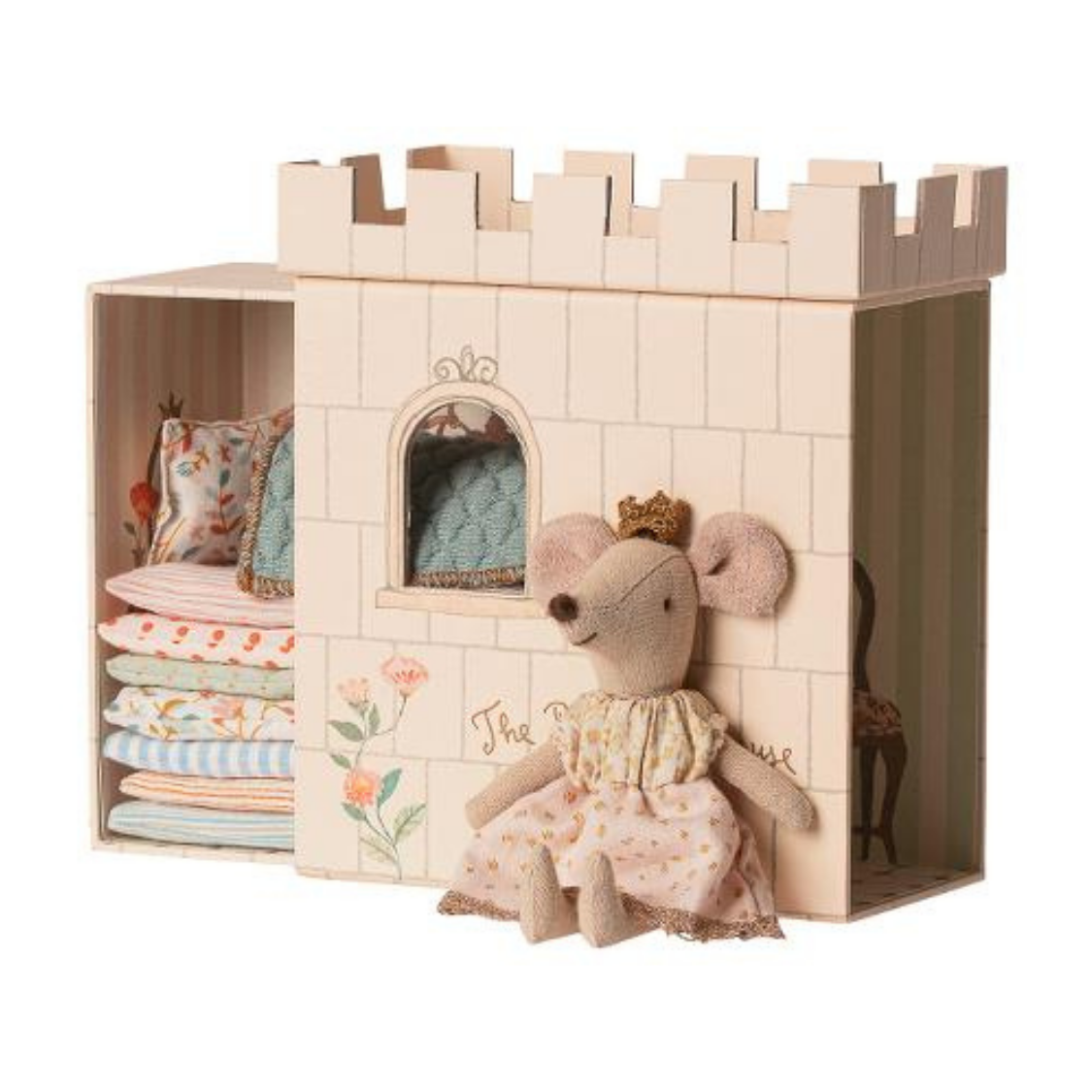 The Princess On The Pea Big Sister Mouse- Light Pink