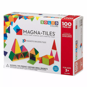 Magna Tiles Solid Colors 100Pc Set