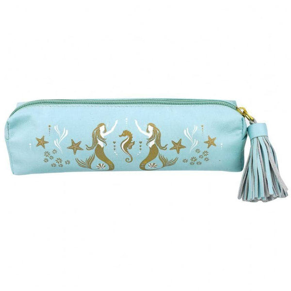 Mermaids Leather Pouch