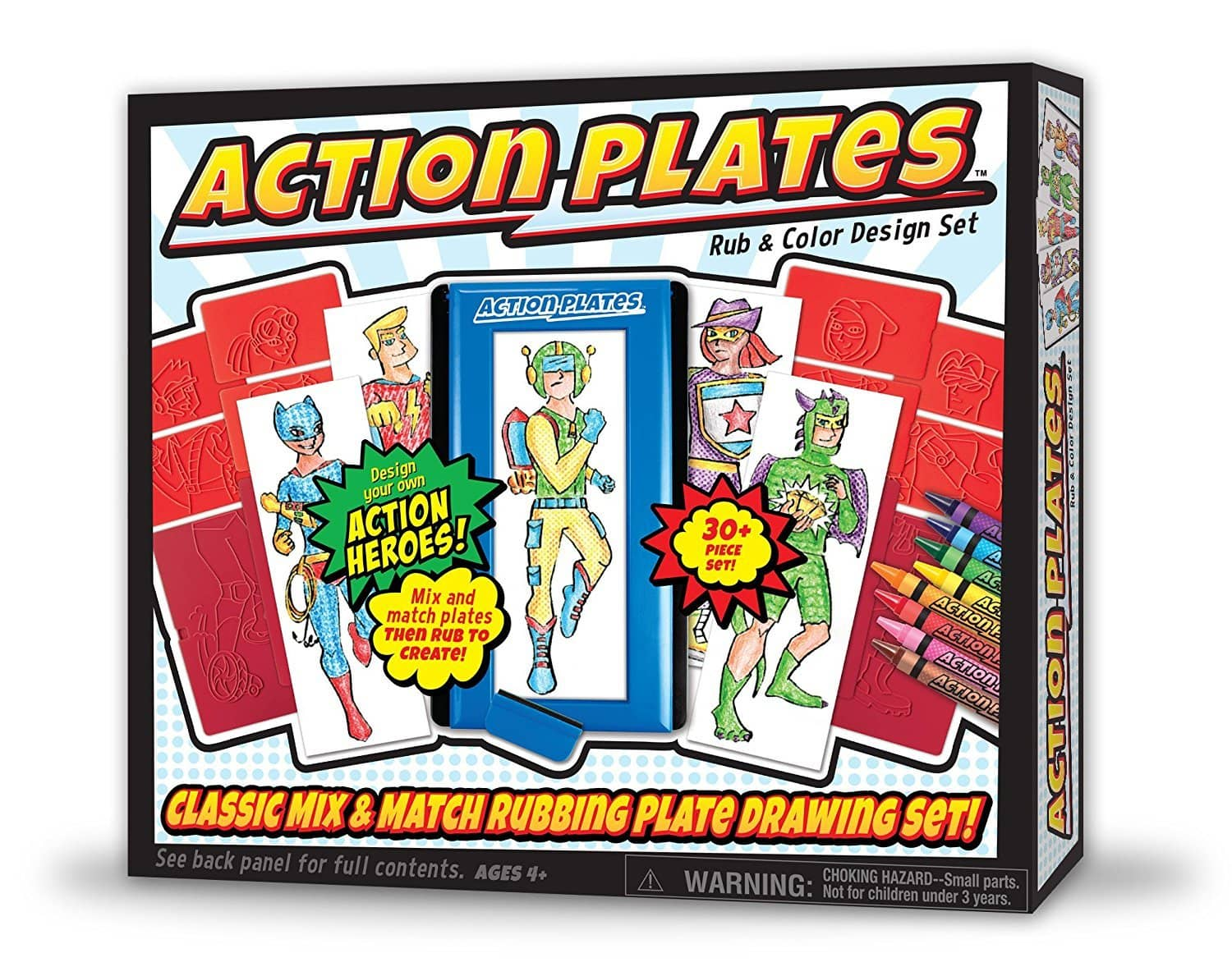 Action Plates Design Set-Kidding Around NYC
