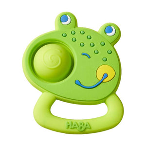 Plopping Frog Clutching Toy