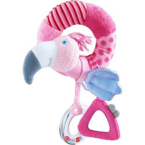Gustav Flamingo Clutching Toy