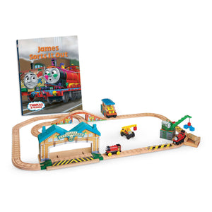 Thomas & Friends Wooden Railway: James Sorts It Out Set-Kidding Around NYC