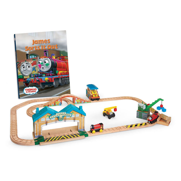 Thomas & Friends Wooden Railway: James Sorts It Out Set