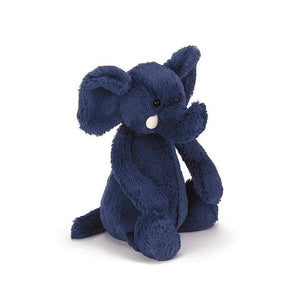 Medium Bashful Blue Elephant-Kidding Around NYC