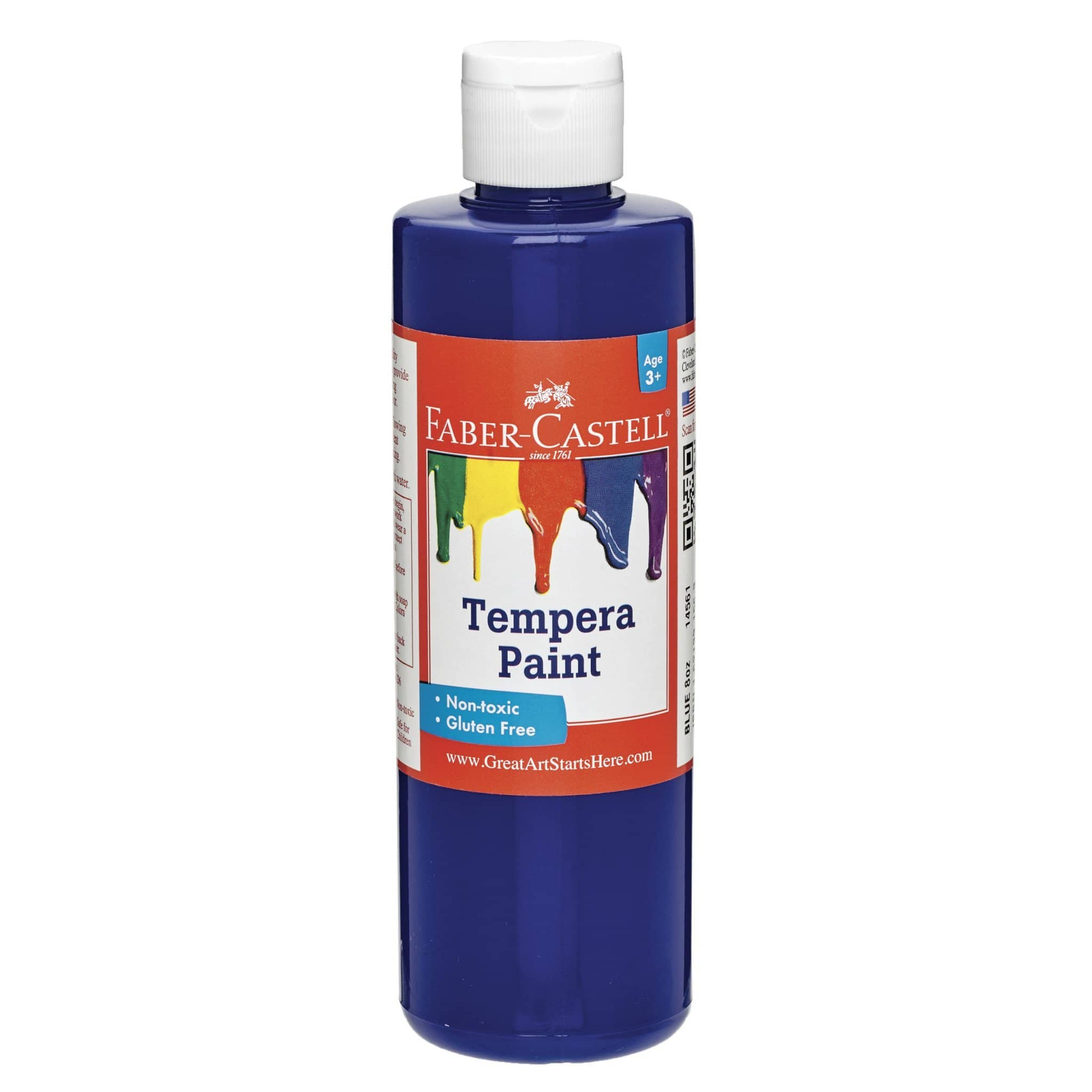 Blue Tempera Paint-Kidding Around NYC