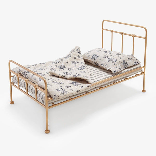 Mini Gold Vintage Bed-Kidding Around NYC