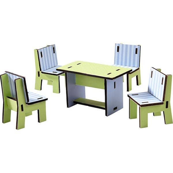 Little Friends Dollhouse Dining Room Furniture