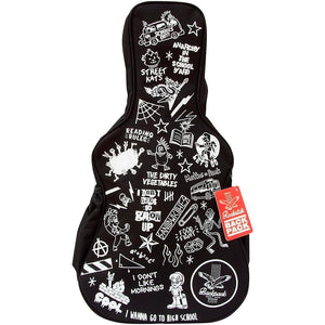 Rockstar Guitar Shaped Backpack-Kidding Around NYC