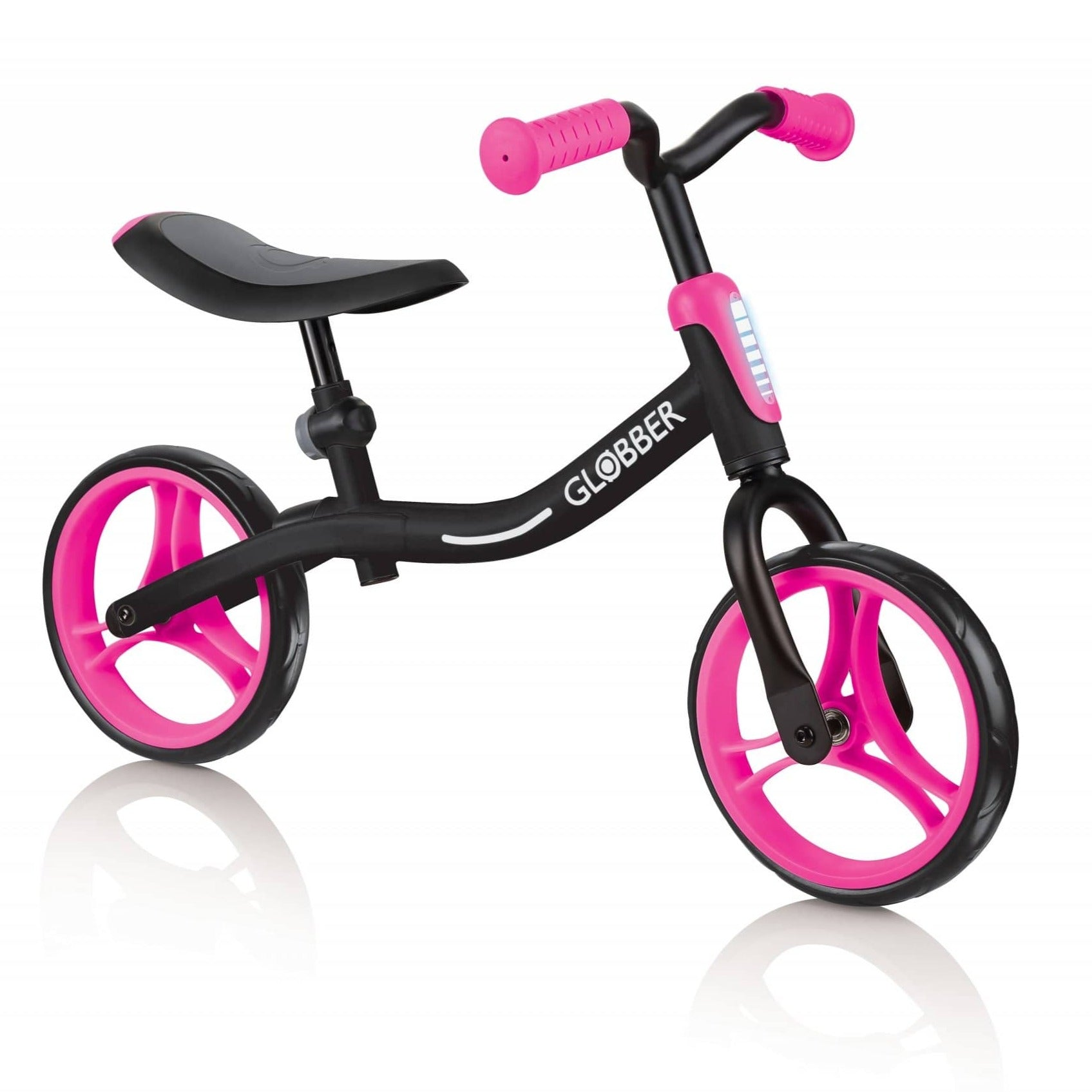 Globber Go Bike - Neon Pink Ages 2+