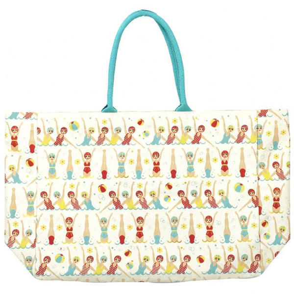 Swimmers Canvas Tote