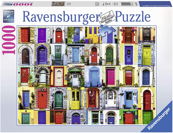 "Ravensburger 19524: 1000 Piece Puzzle: ""Doors of the World"""